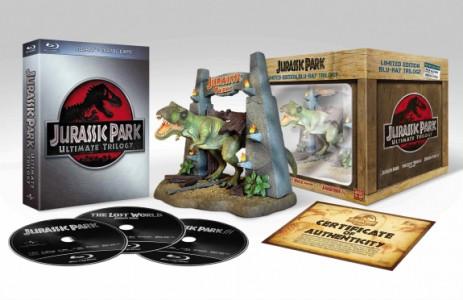 Jurassic Park na Blu-ray