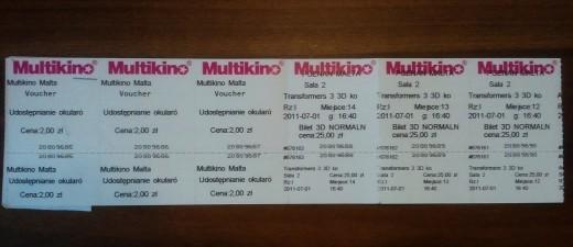 Bilety w Multikinie