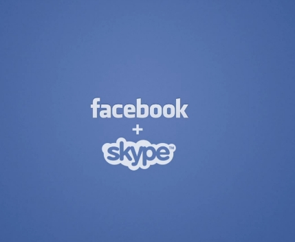 Facebook plus Skype
