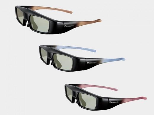 Okulary 3D Panasonica
