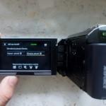 Sony HDR-PJ30 - ekran jakość wideo