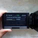 Sony HDR-PJ30 - ekran stereo i surround