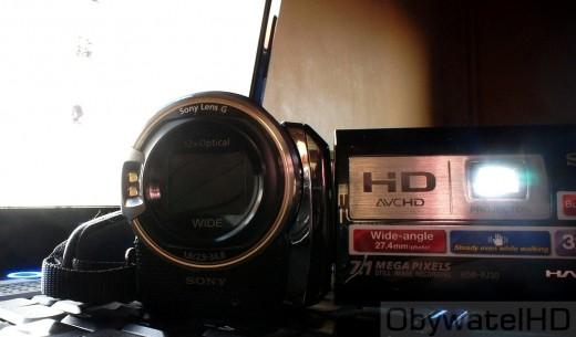 Sony HDR-PJ30 - projektor