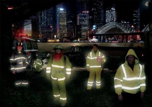 Strażacy OLED