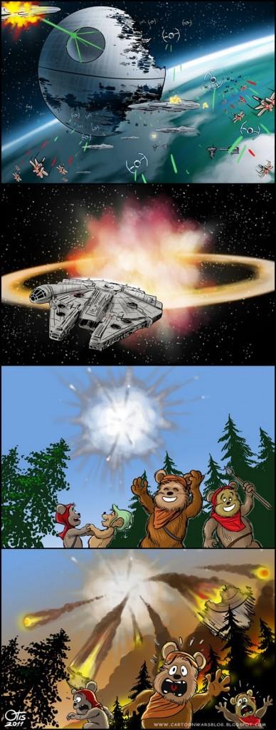 Koniec Star Wars