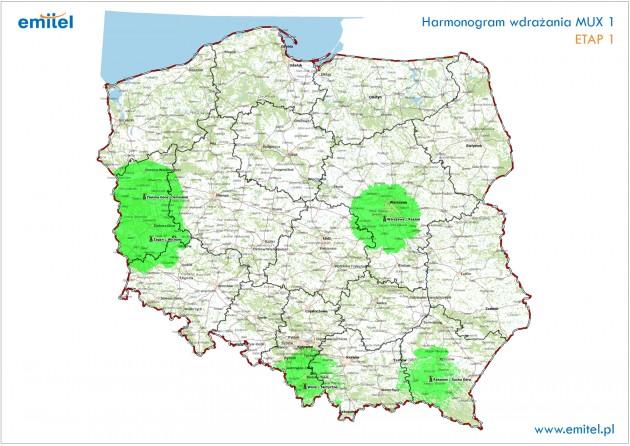 MUX1 Etap 1 mapa