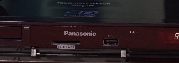 Panasonic DMP-210 SD i USB