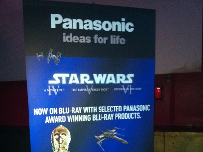 Panasonic Star Wars