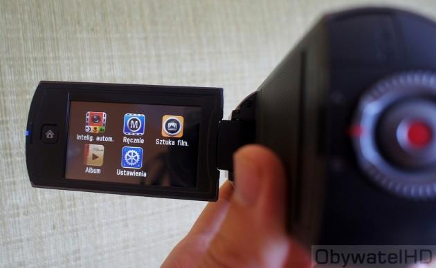 Samsung HMX-Q10 - menu główne
