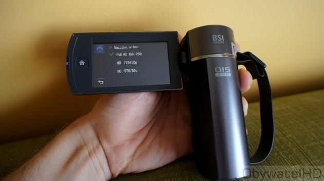 Samsung HMX-Q10 - rozdzielczość wideo