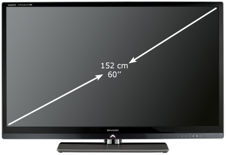 Sharp LC-60LE830E