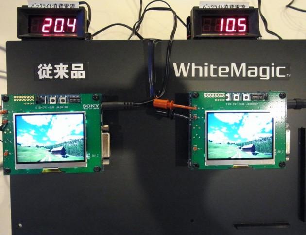 Sony WhiteMagic w komórkach