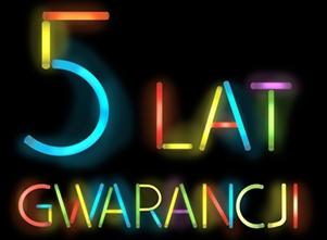 5 Lat Gwarancji
