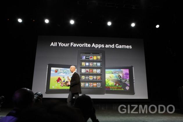 Amazon Kindle Fire - aplikacje