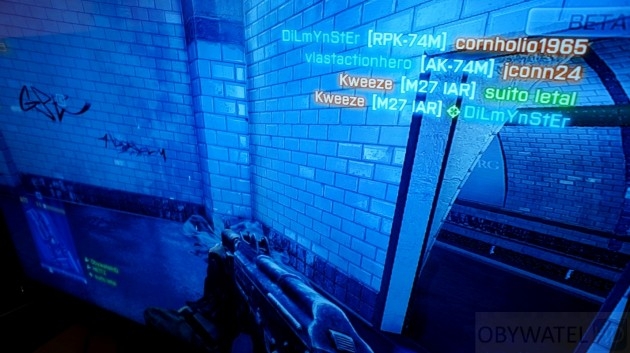 Battlefield 3 Beta HUD napisy