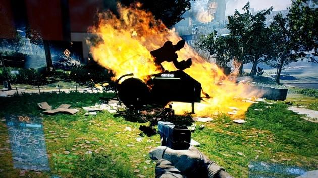 Battlefield 3 Beta ogień