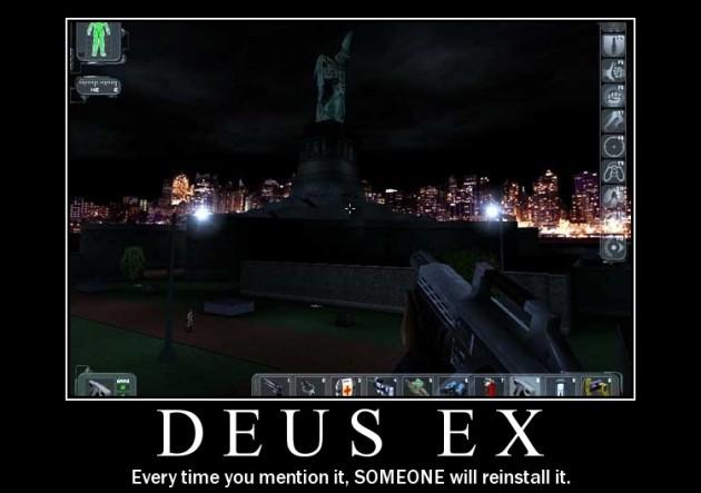 Deus Ex demotywator