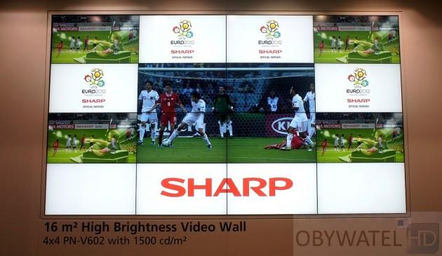 IFA 2011 - telewizory Sharpa