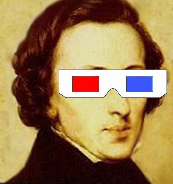 Fryderyk Chopin 3D