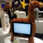 Hannspree na IFA 2011 - żyrafa