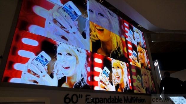 LG na IFA 2011 - łączenie paneli