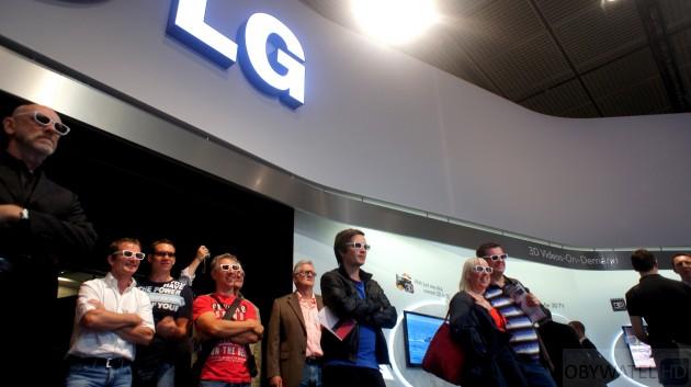 LG na IFA 2011 - zadowoleni widzowie