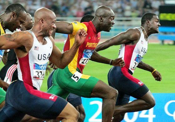 Olmpiada biegi na 100 m finał