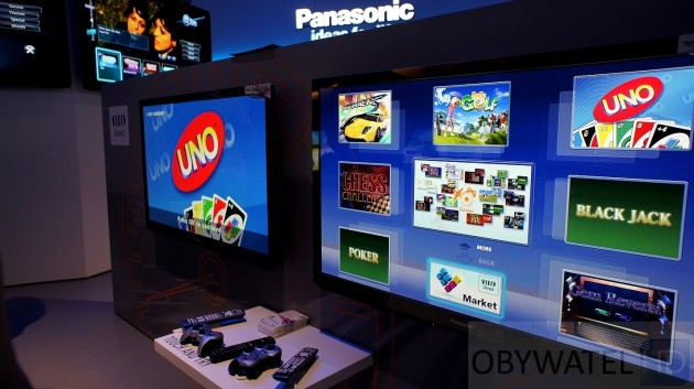 Gry na Panasonic Viera Connect