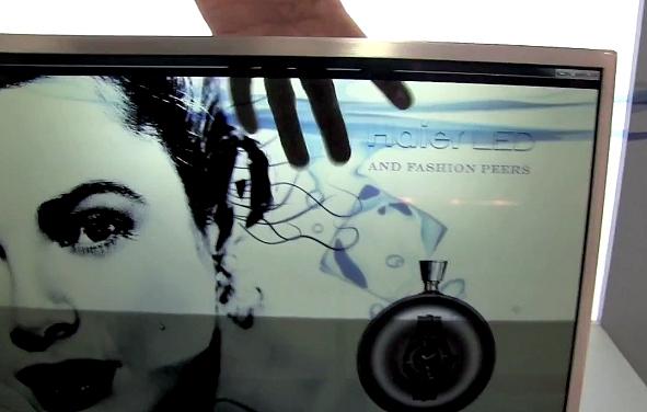 Przeźroczysty ekran