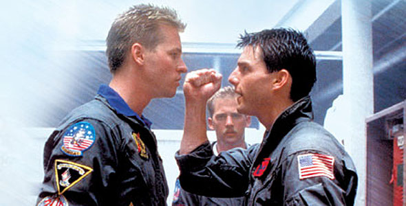 Tom Cruise i Val Kilmer