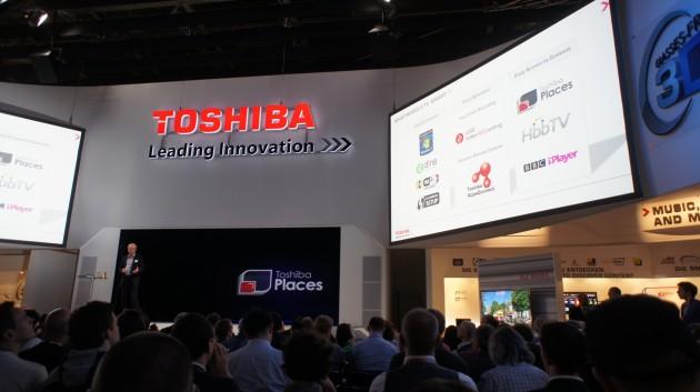 Toshiba places