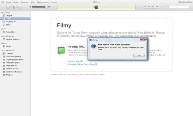 iTunes Filmy