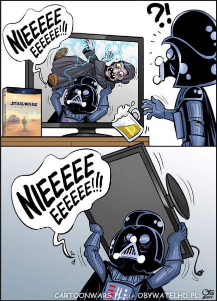 Cartoon Wars - Star Wars NOOOO