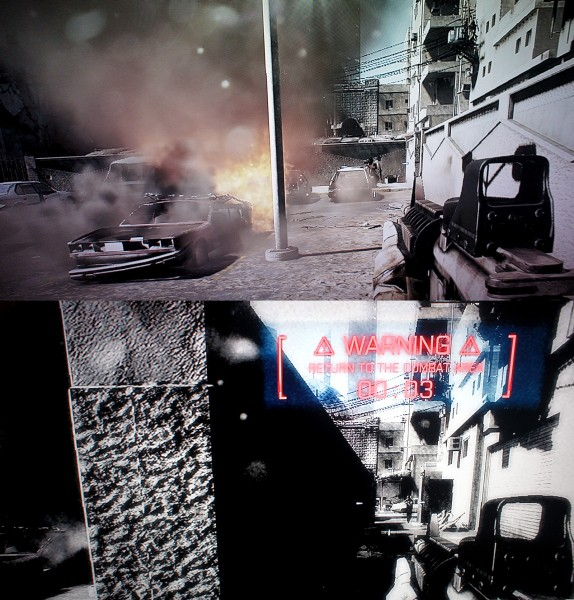 pole walk w Battlefield 3