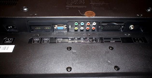 Manta LCD4214 - złącza