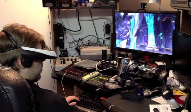 Sony HMZ-T1 i World Of Warcraft
