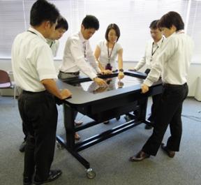 Stół NEC