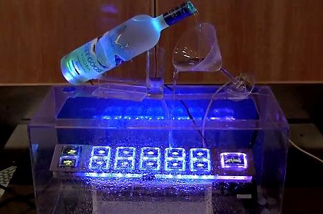 Test przycisków OLED