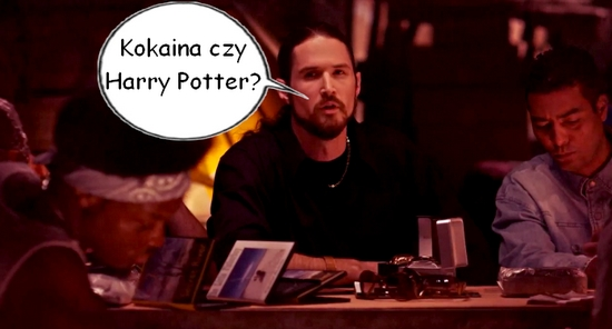 Kokaina czy Harry Potter