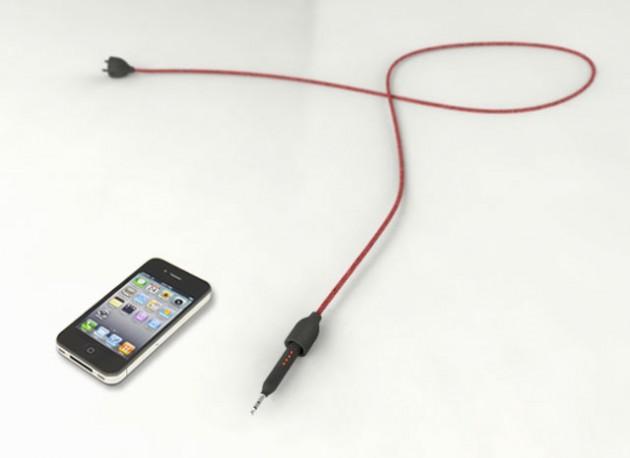 Przeźroczyste głośniki a ntena WiFi