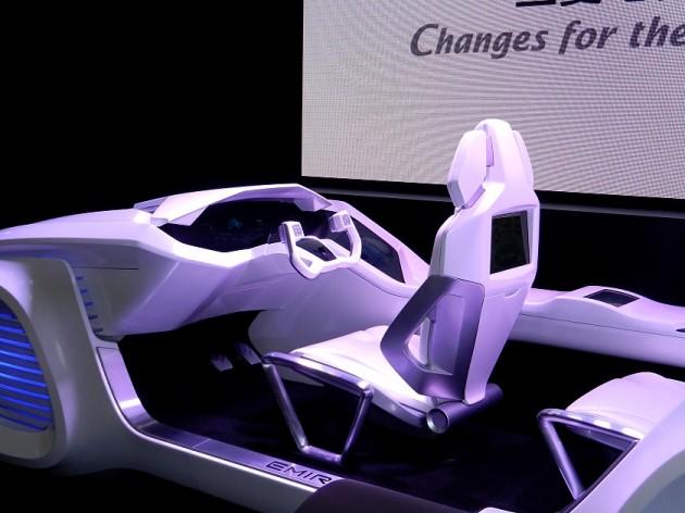 Samochód przyszłości według Mitsubishi Electric 2