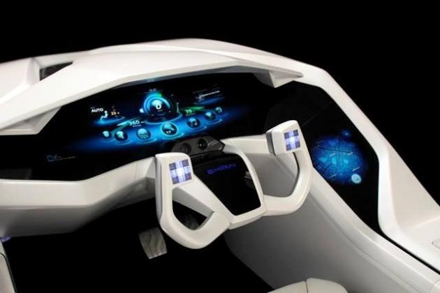 Samochód przyszłości według Mitsubishi Electric