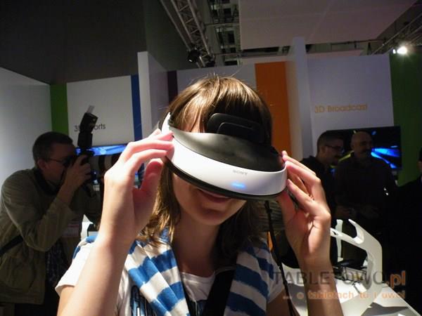 Sony HMZ-T1 z Tabletowo.pl