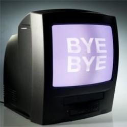 TV Bye bye
