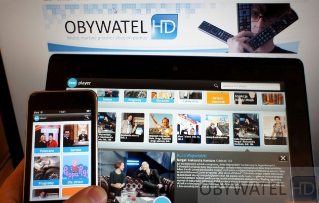 TVN Player na iPodzie Touch i Sony Tablet S