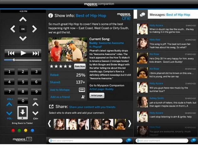 MySpace Companion