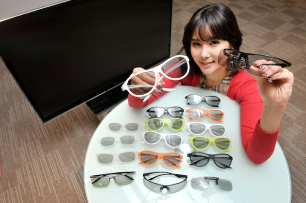 Nowe okulary 3D LG
