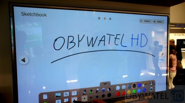 LG Pentouch TV na IFA 2011