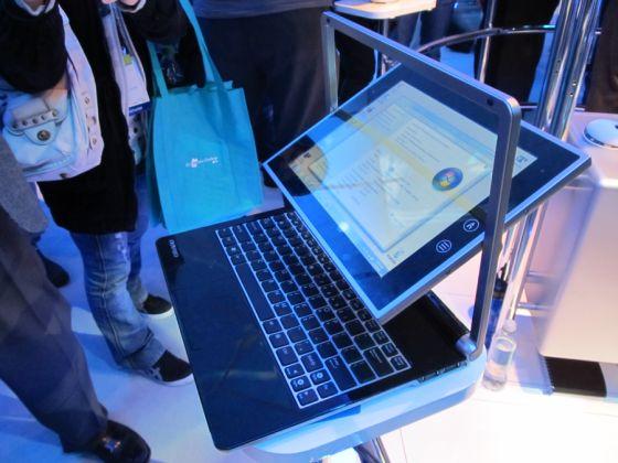 novero tablet laptop ces2012
