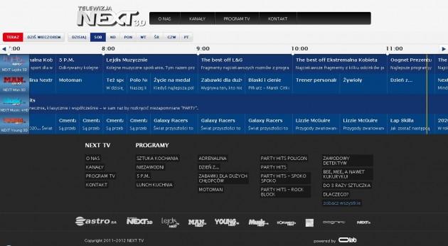 ramówka NEXT TV